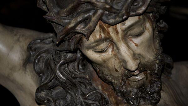 Una talla de Jesucristo (archivo) - Sputnik Mundo
