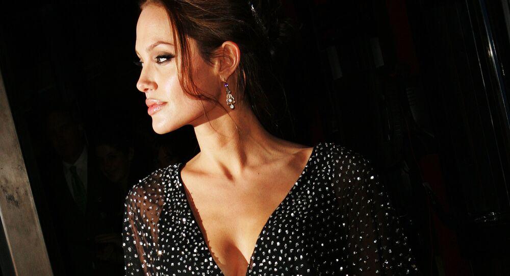 La actriz Angelina Jolie (archivo)