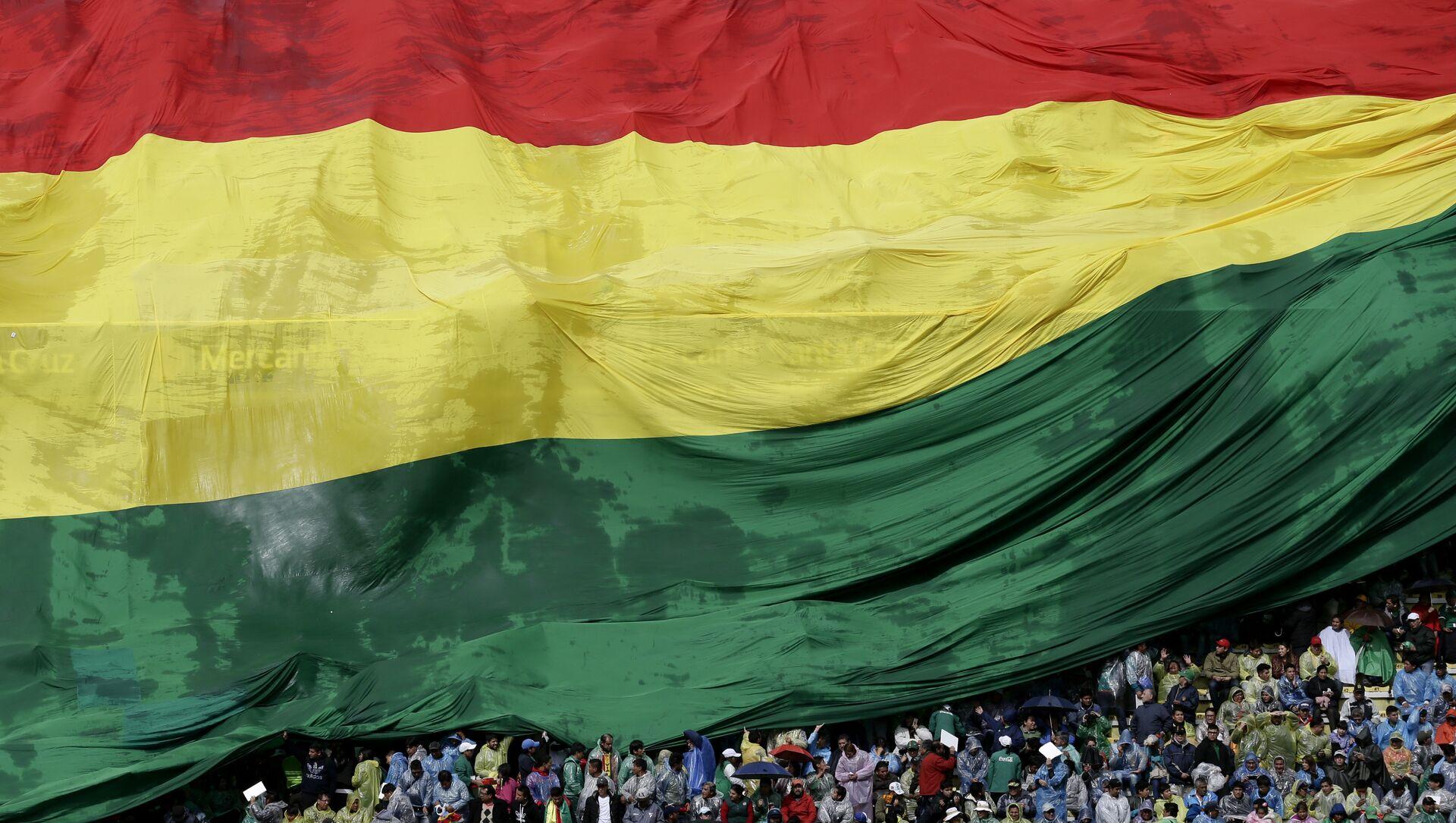 Bandera de Bolivia - Sputnik Mundo, 1920, 24.12.2020