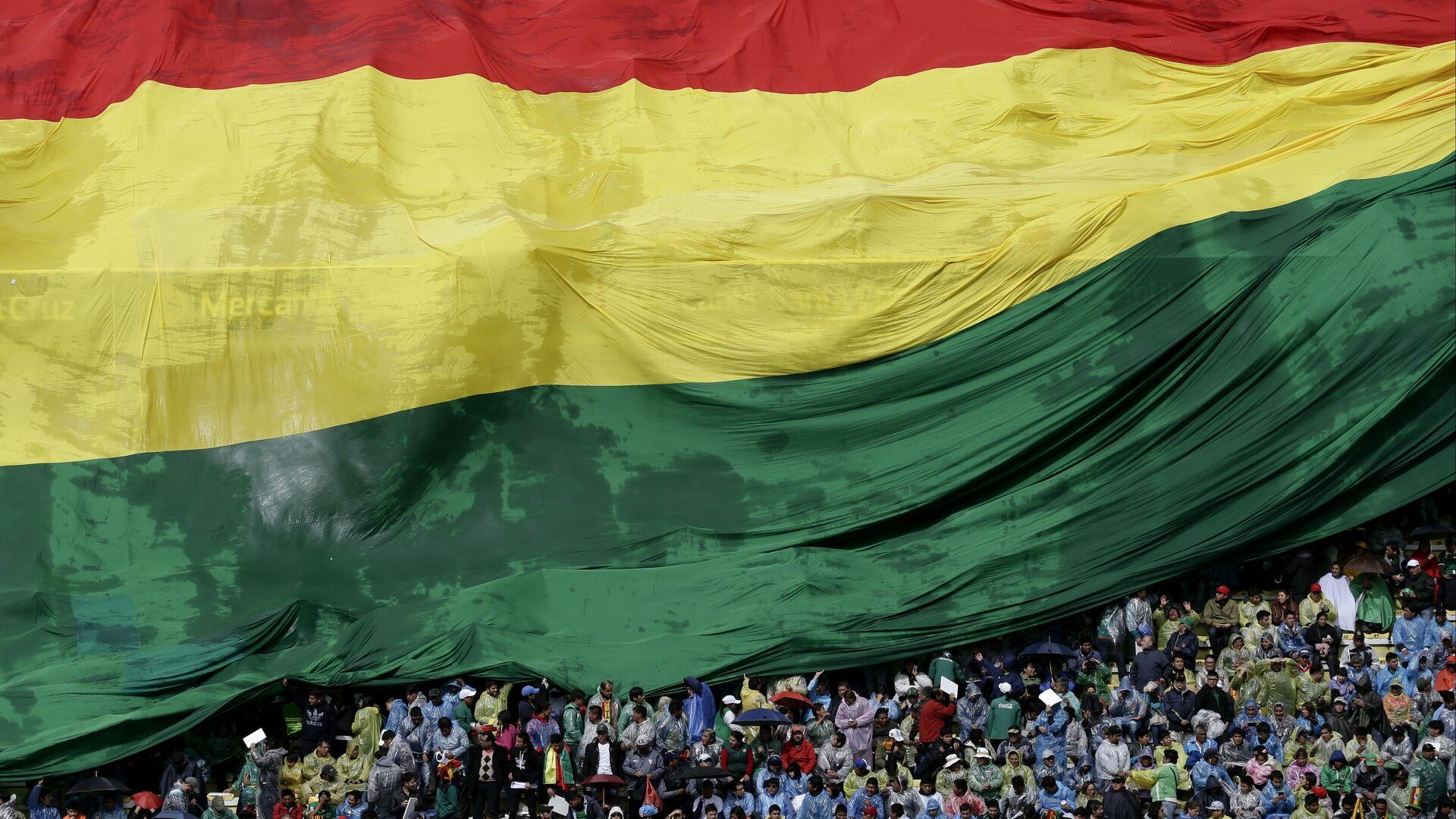 Bandera de Bolivia - Sputnik Mundo, 1920, 05.08.2021