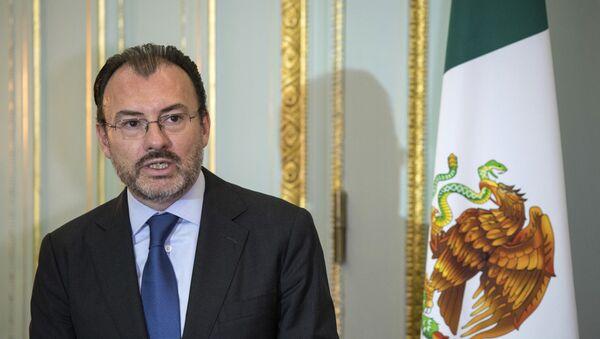 El canciller de México, Luis Videgaray (archivo) - Sputnik Mundo