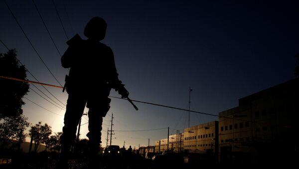 Un soldado mexicano - Sputnik Mundo