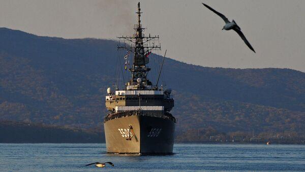 Buque escuela Kashima de la Armada de Japón (archivo) - Sputnik Mundo