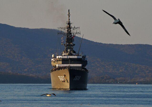 Buque de la Armada de Japón (archivo)
