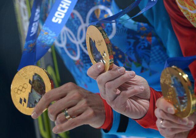 Medallas olímpicas de JJOO 2014 en Sochi