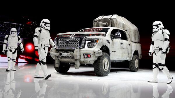 Un vehículo al estilo Star Wars - Sputnik Mundo