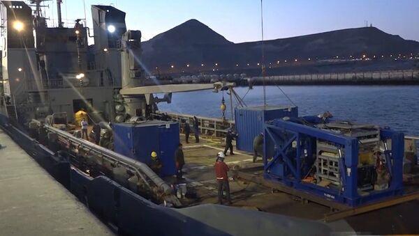 Especialistas rusos se dirigen hacia el área de búsqueda del submarino argentino - Sputnik Mundo