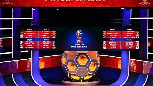 Sorteo de los grupos del Mundial de Rusia 2018 - Sputnik Mundo