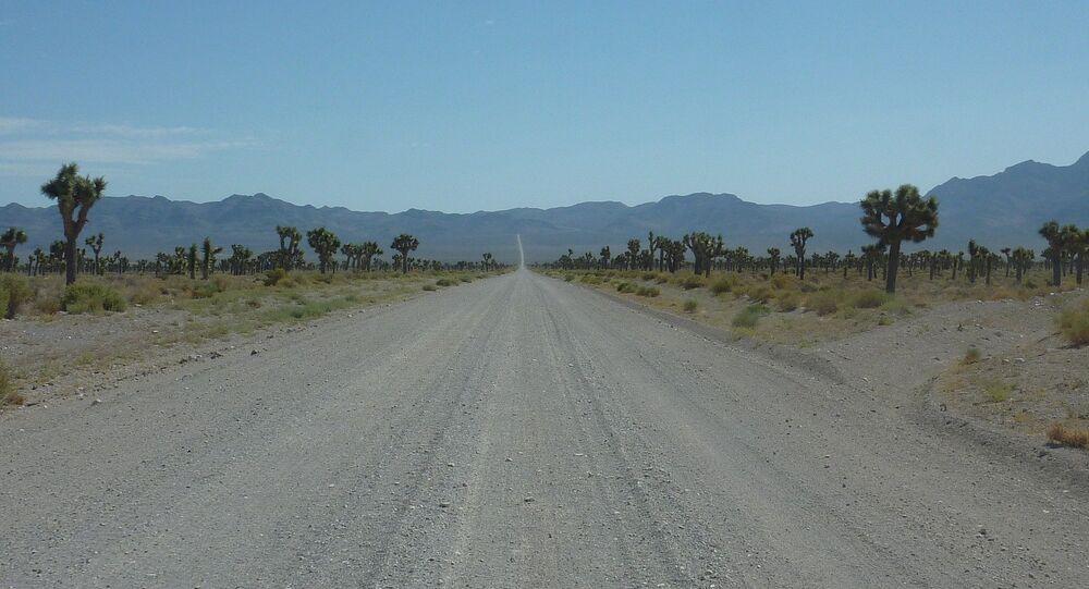 La carretera hacia el Área 51
