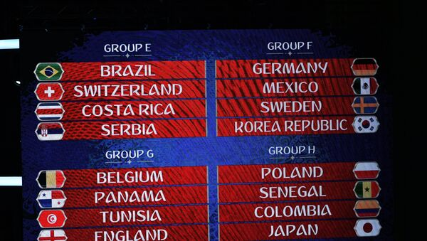 Algunos grupos del Mundial - Sputnik Mundo