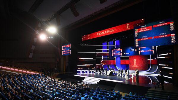 Imágnes del sorteo de grupos para la Copa del Mundo Rusia 2018 - Sputnik Mundo