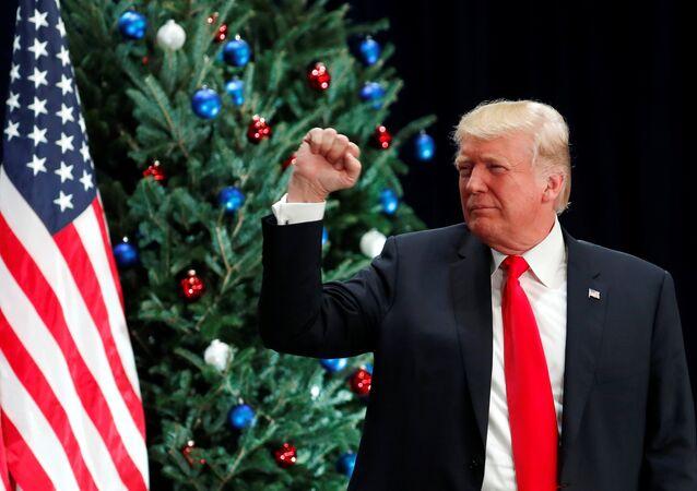 Donald Trump, presidente de Estados Unidos