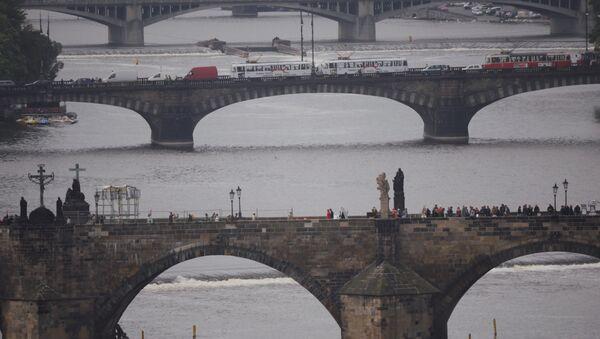 Los puentes de Praga, capital de la República Checa (imagen referencial) - Sputnik Mundo