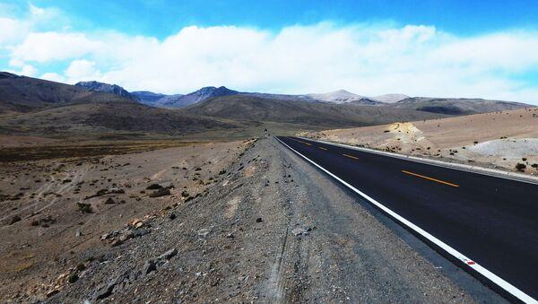 Una carretera de Perú - Sputnik Mundo