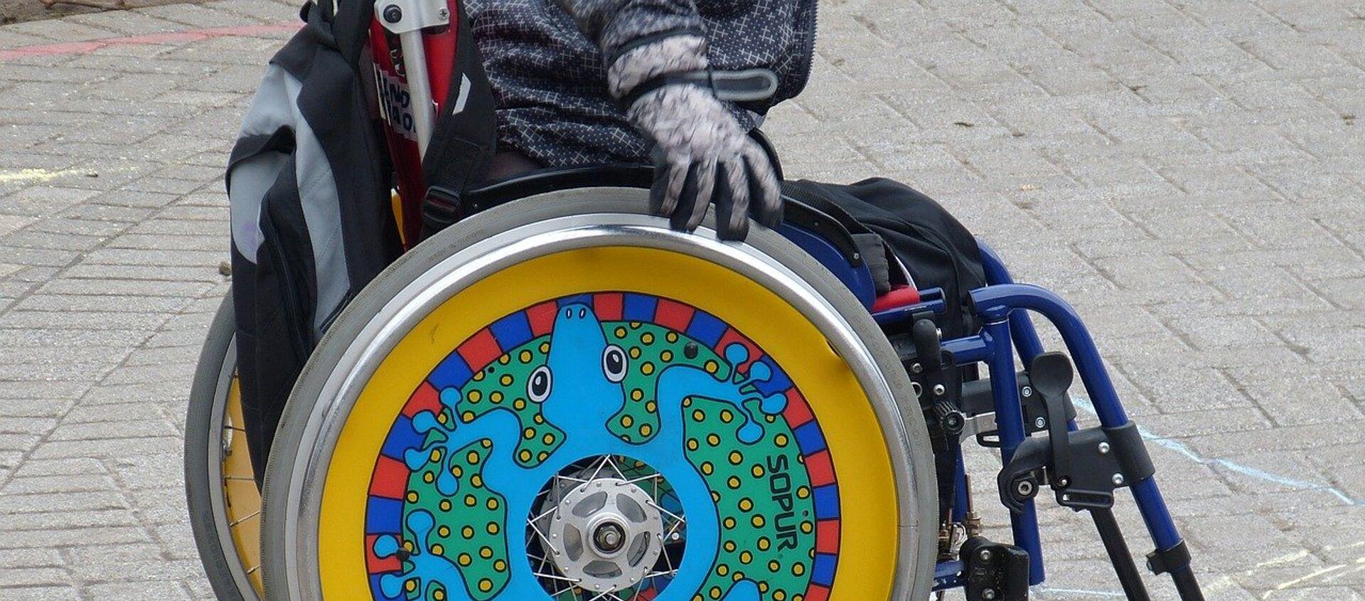 Una persona discapacitada - Sputnik Mundo, 1920, 03.12.2017