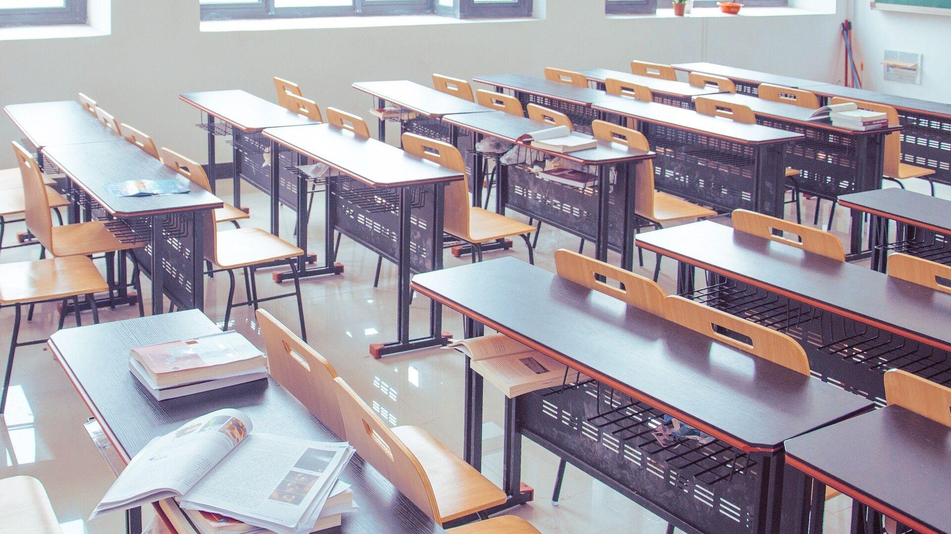 Escuela (imagen referencial) - Sputnik Mundo, 1920, 25.05.2021