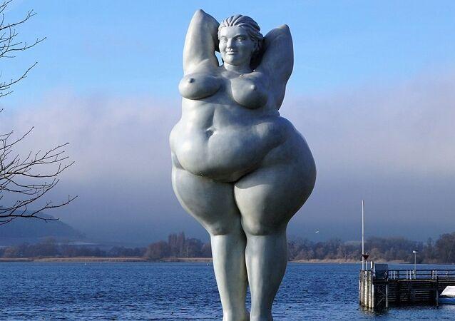 Una estatua