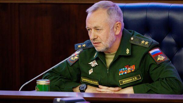 Alexandr Fomín, el viceministro ruso de Defensa - Sputnik Mundo