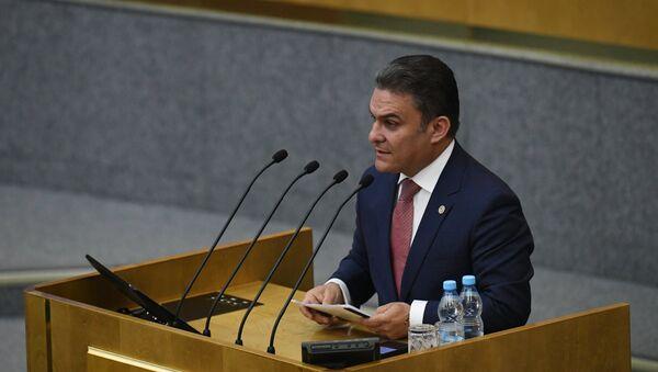 José Serrano, presidente de la Asamblea Nacional de Ecuador, durante su visita oficial a Rusia - Sputnik Mundo