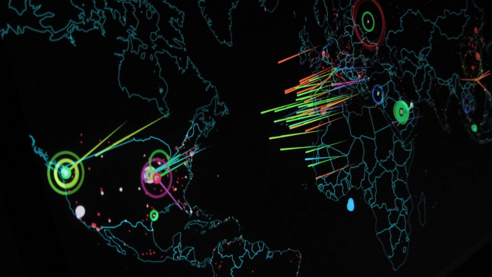 Ciberataques (imagen referencial) - Sputnik Mundo, 1920, 18.05.2021