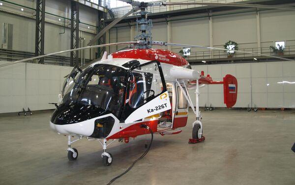 Helicóptero Ka-226T con un módulo médico - Sputnik Mundo