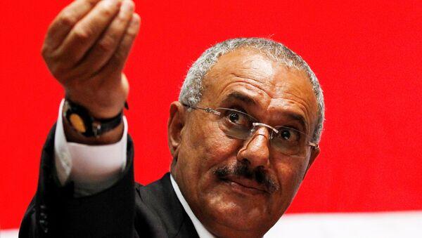 Alí Abdalá Salé, el expresidente de Yemen - Sputnik Mundo