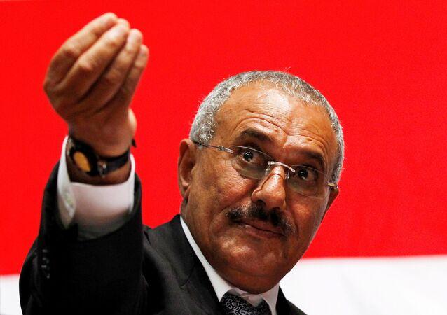 Alí Abdalá Salé, el expresidente de Yemen