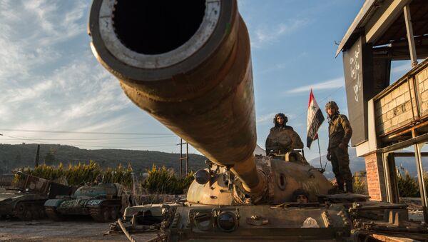 Soldados sirios - Sputnik Mundo