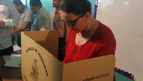 Xiomara Castro, la candidata a vicepresidenta primera por la Alianza de Oposición - Sputnik Mundo
