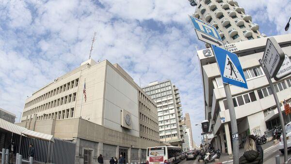 La embajada de EEUU en Tel Aviv, Israel - Sputnik Mundo