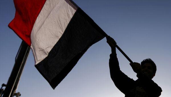 La bandera de Yemen - Sputnik Mundo