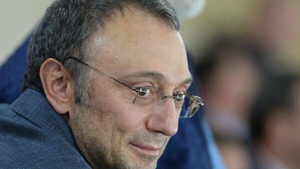 Suleimán Kerímov, el senador ruso - Sputnik Mundo