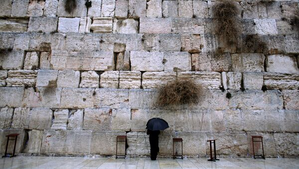 Muro de Lamentaciones en Jerusalén, Israel - Sputnik Mundo