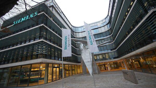 El logo de Siemens - Sputnik Mundo