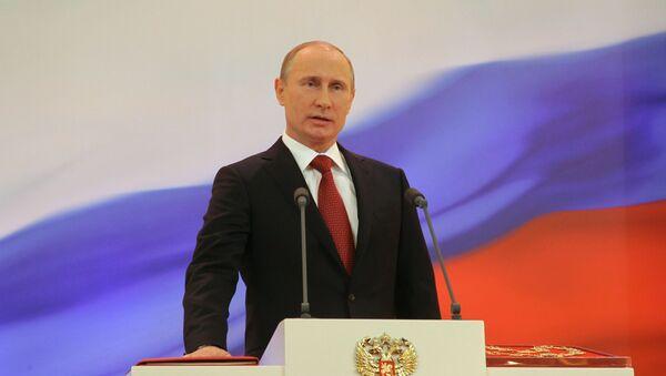 Los tres mandatos presidenciales de Vladímir Putin, en imágenes - Sputnik Mundo
