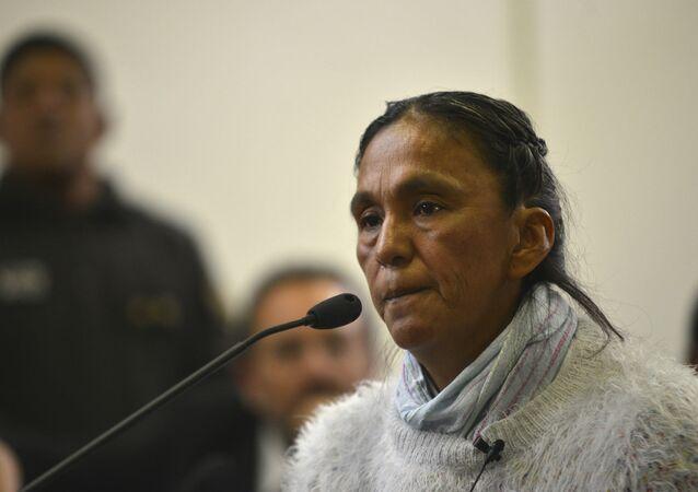 Milagro Sala, dirigente social argentina