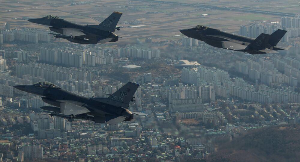 Cazas estadounidenses F-35A