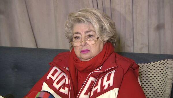 Destacada entrenadora rusa no puede contener las lágrimas tras conocer la decisión del COI - Sputnik Mundo