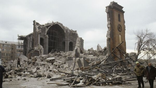 Consecuencias del terremoto de Armenia del 7 de diciembre de 1988 - Sputnik Mundo