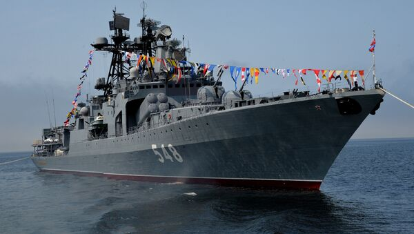 El destructor antisubmarino ruso Almirante Panteleyev - Sputnik Mundo