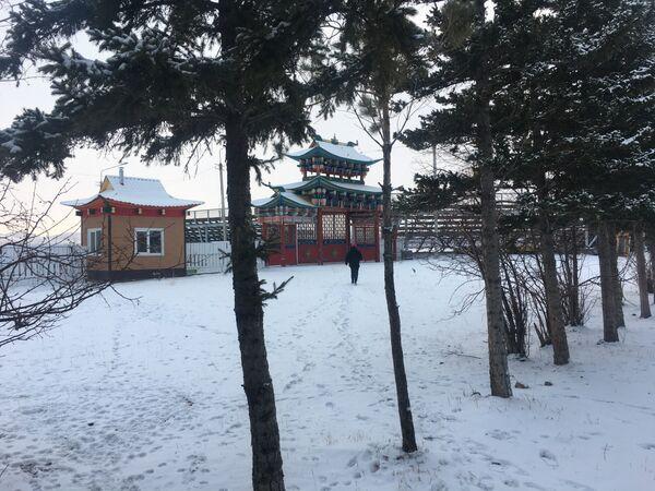 El monasterio de Ívolga - Sputnik Mundo