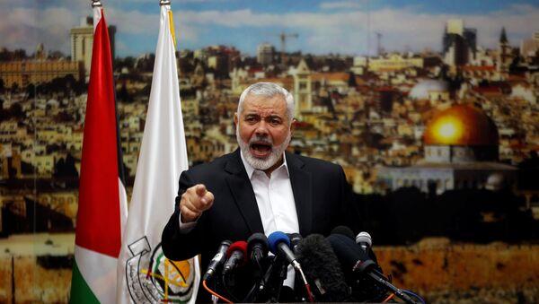 Ismail Haniyeh, líder del movimiento Hamás - Sputnik Mundo