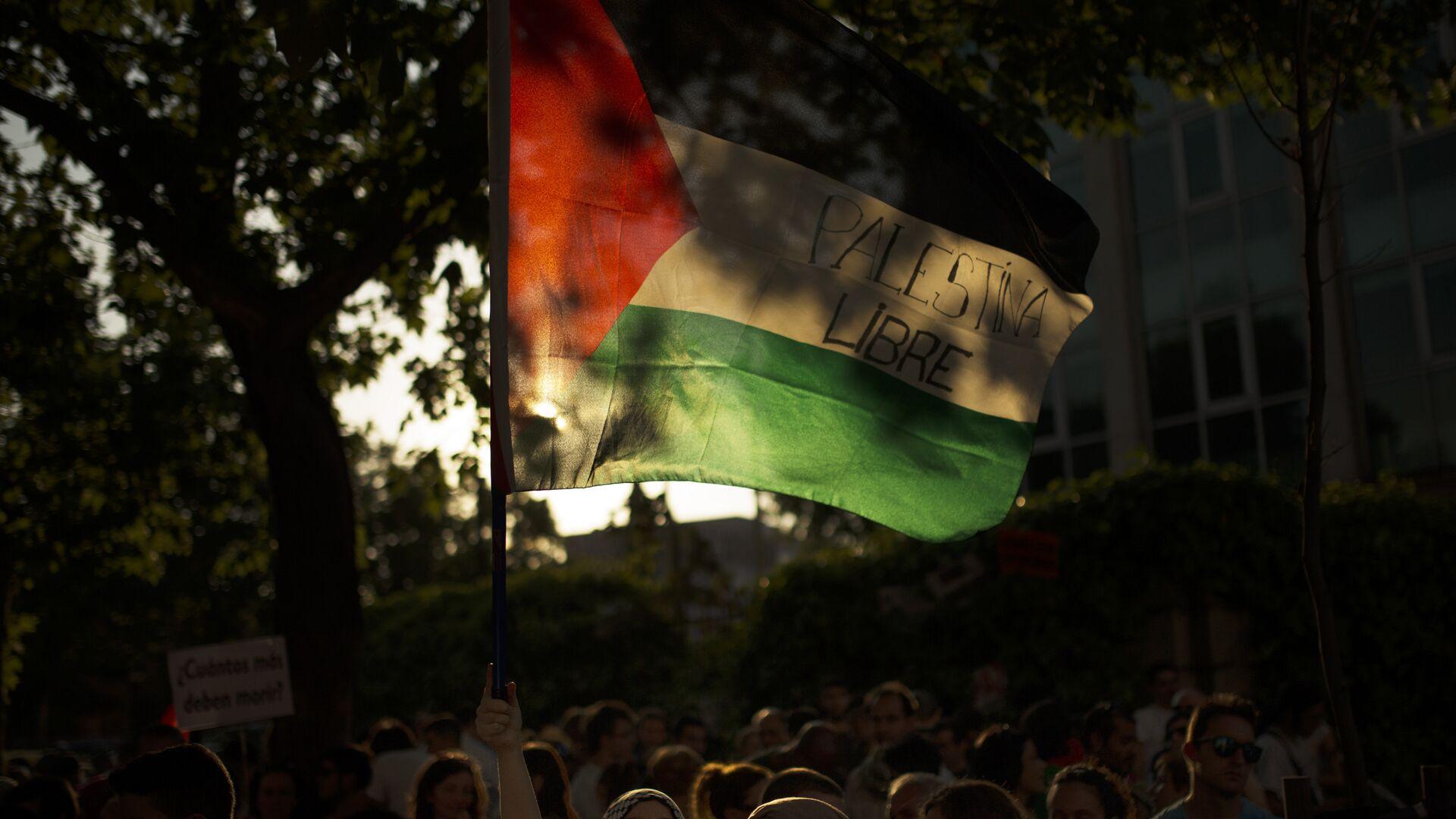 La bandera de Palestina - Sputnik Mundo, 1920, 25.05.2021