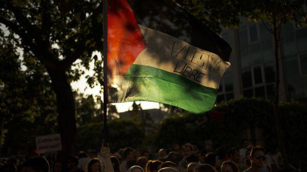 La bandera de Palestina - Sputnik Mundo