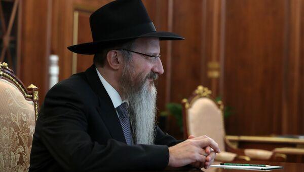 Berel Lazar, principal rabino de Rusia - Sputnik Mundo