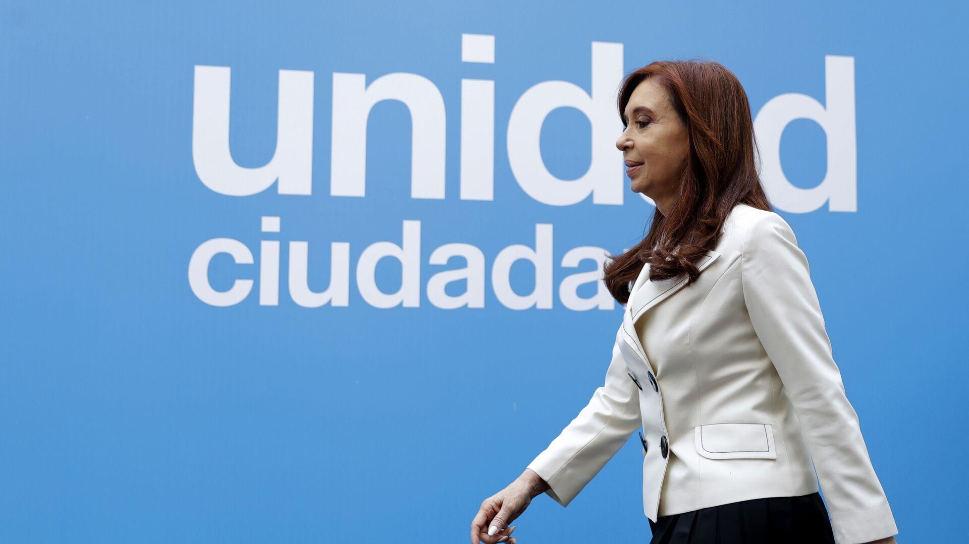 Cristina Fernández de Kirchner, expresidenta de Argentina - Sputnik Mundo, 1920, 17.08.2021