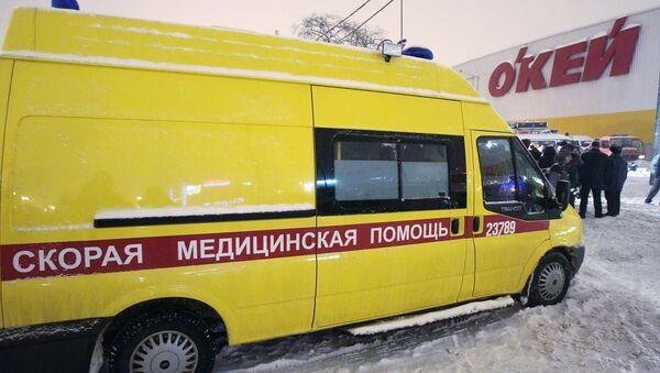 Una ambulancia de San Petersburgo, imagen ilustrativa - Sputnik Mundo