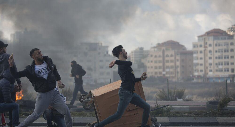Situación en Cisjordania