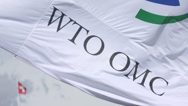 Bandera de la OMC - Sputnik Mundo