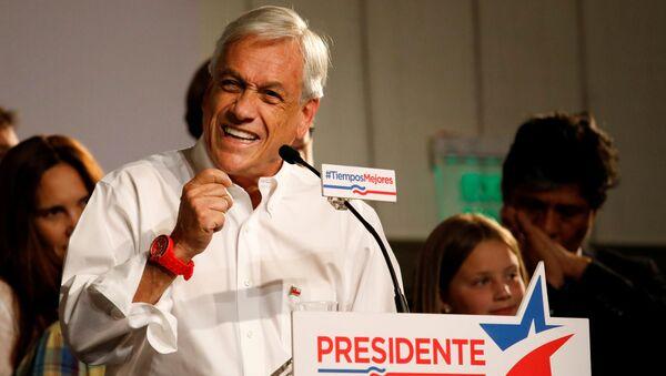 Sebastián Piñera, candidato a la presidencia y exmandatario (2010-2014) chileno - Sputnik Mundo